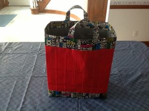 Rock and Roll  duct tape bag