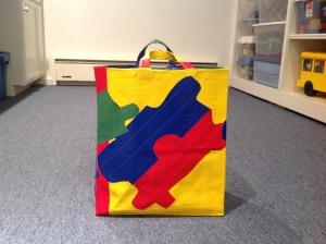 puzzle piece bag